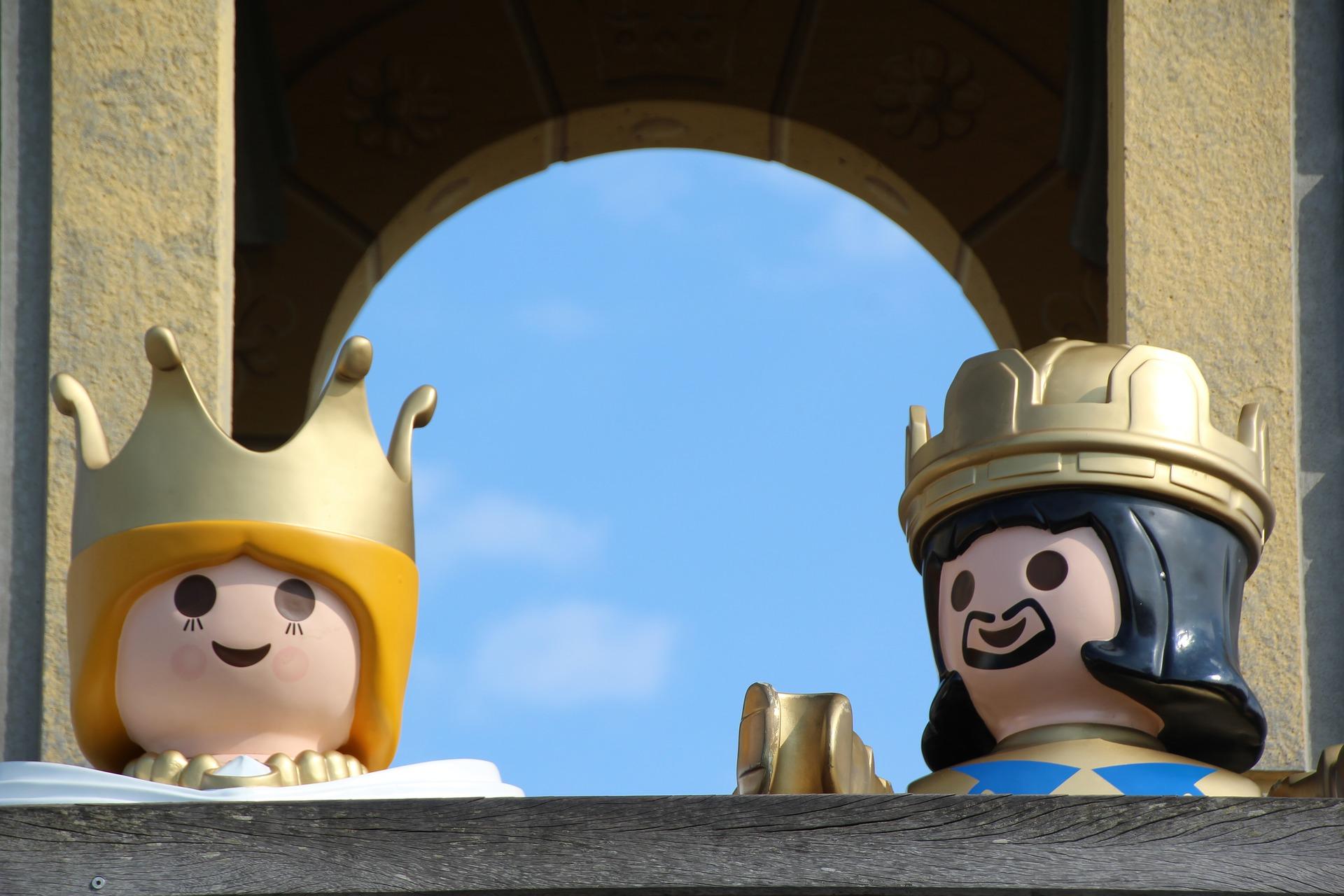 Playmobil Königin und König