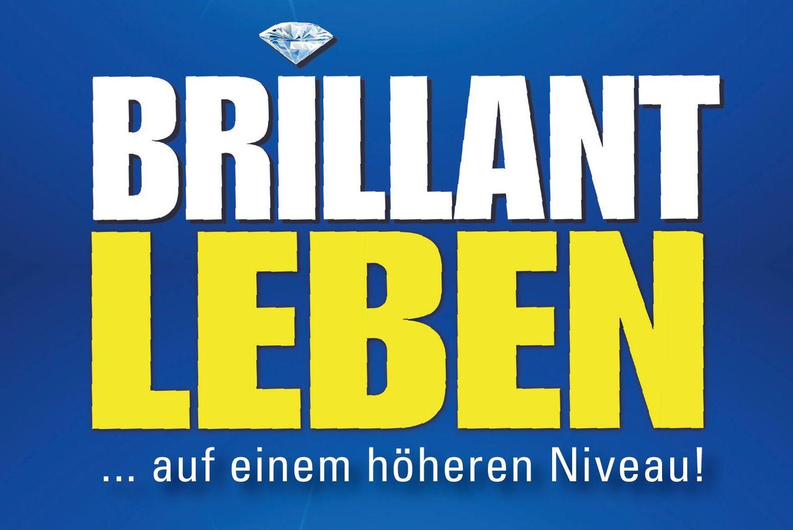 Buchcover Brilliant Leben von Bernd C Trümper