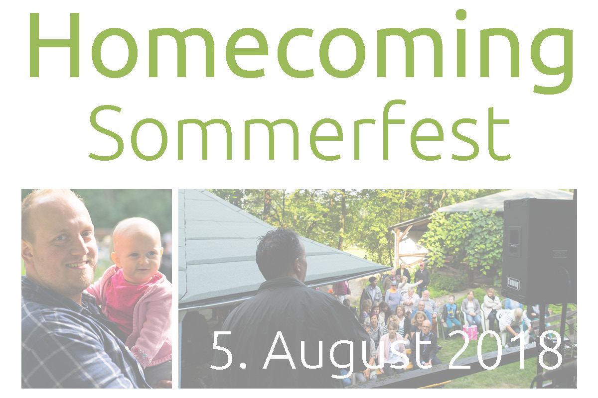 CCLM Homecoming Sommerfest